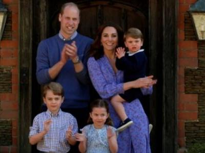 Kate Middleton gives Princess Charlotte, Prince George and Prince Louis haircut during lockdown