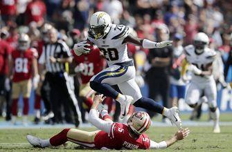 Chargers DB Desmond King named AFC Defensive Player of the Week