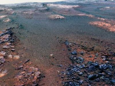 This is the last gorgeous Mars panorama that Opportunity captured before it died