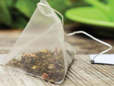 What's up with plastic tea bags?