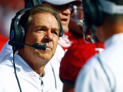 Saban back in 'very near future' after hip surgery