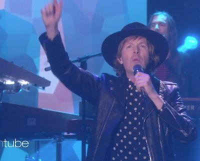 "Watch Beck Bring ""Up All Night"" To Ellen"