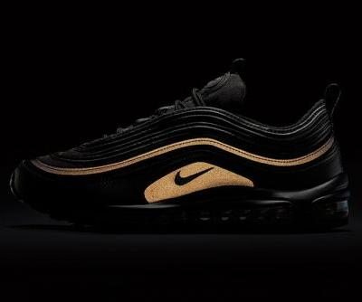 Nike Drops an All-Black Air Max 97 That Reflects Gold for Black Friday