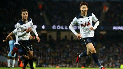Manchester City 2-2 Tottenham: Alli & Son rescue Spurs after Lloris gifts