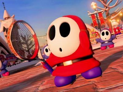 Shy Guy and Piranha Plant will be available in Mario Tennis Aces soon