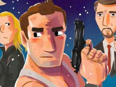 This Christmas, 'Die Hard' with a New Illustrated Adaptation of the Action Classic