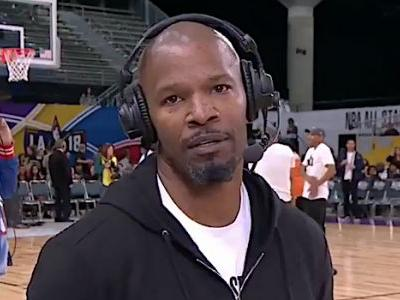 Watch Jamie Foxx Walk Off A Live ESPN Interview Over Katie Holmes Question