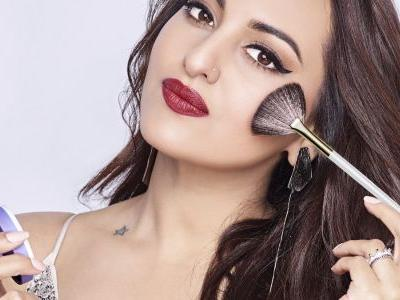 Actor Sonakshi Sinha on red lips, her beauty routine, and being the face of MyGlamm