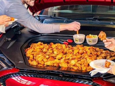 You Can Eat Straight From The Ford Mach-E's 'Ice Box' Frunk