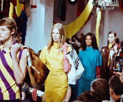 Raf's Calvin Klein show referenced Warhol and horror films