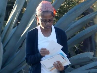 Doria Ragland Spotted Checking Mail Alone After Declining Christmas Invite With The Royals