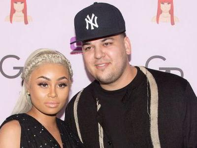 "Rob Kardashian and Blac Chyna ""Getting Along"" for Dream Amid Pregnancy Reports"