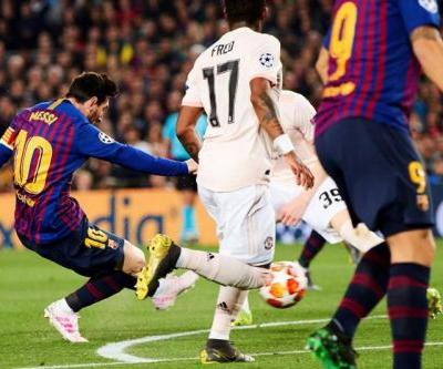 Watch: Barcelona's Lionel Messi uses lightning dribble to score for Barcelona