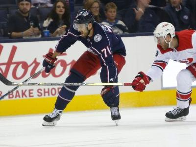 Aho, Ferland power Hurricanes over Blue Jackets 3-1