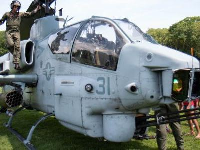 We got inside an AH-1W Super Cobra, the world's first attack helicopter