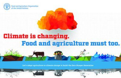 "World Food Day 2016: ""Climate is Changing. Food and Agriculture Must Too."""
