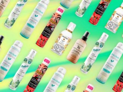 The Best New Dry Shampoos For Every Hair Type