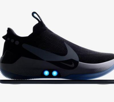 Nike just unveiled a pair of self-lacing shoes that you can control with an app