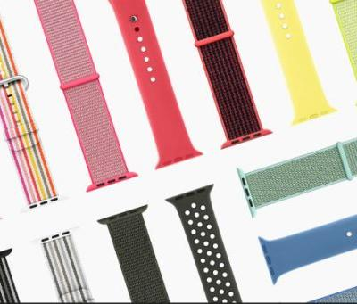 Apple unveils spring Watch bands, will sell Nike Sport Loop alone
