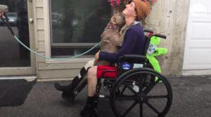 Beautiful Reunion For Man And His Dog Who Were Hit By A Drunk Driver
