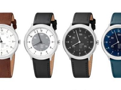 Mondaine Helvetica Regular is a stylish hybrid watch with a two year battery life
