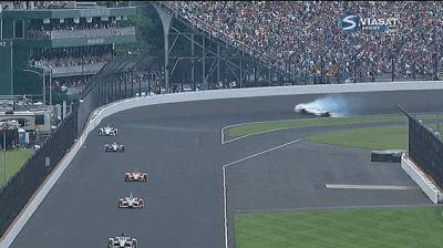 49-Year-Old Man Spins Out And Crashes In The Middle Of The Indianapolis 500