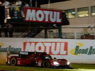 This is What it Looks Like to Make a Last Second Pass on the Grass at Petit Le Mans