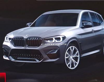 BMW X3 M Design Leaked via Infotainment System