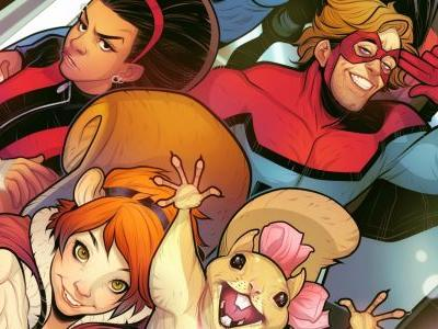Marvel's New Warriors Cast Unites In First Set Photo