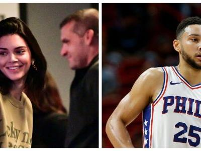 Kendall Jenner Hangs With Ben Simmons' Mom At A Sixers Game, How Cute Is That?!