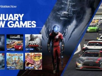 PlayStation Now Adds Prey, Project Cars 2 and More in January
