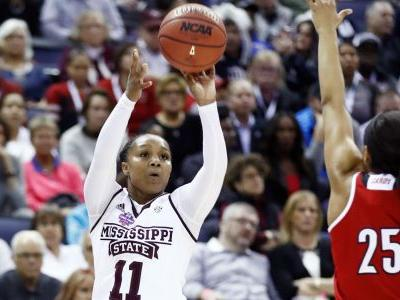 Women's Final Four: Roshunda Johnson shoots Mississippi State past Louisville, back to title game