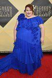 Chrissy Metz Lit Up the Red Carpet in Her Electric Blue Gown