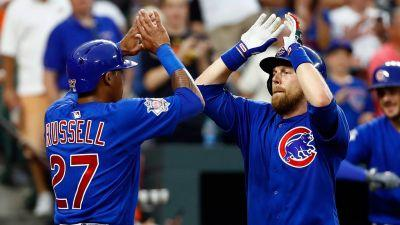 Addison Russell's 9th-inning homer lifts Cubs past Orioles