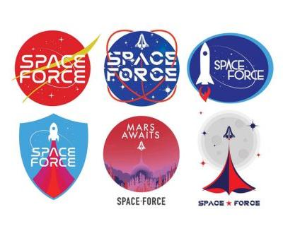 Trump Administration Asks Supporters To Vote On Space Force Logos