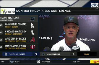 Don Mattingly breaks down Marlins' walk-off win over Padres