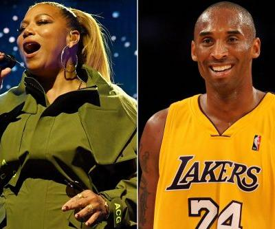 Queen Latifah pays tribute to Kobe Bryant with NBA All-Star performance