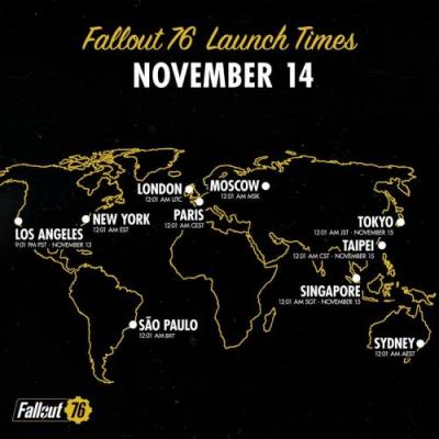 Bethesda shares some important reminders about Fallout 76 Launch Day