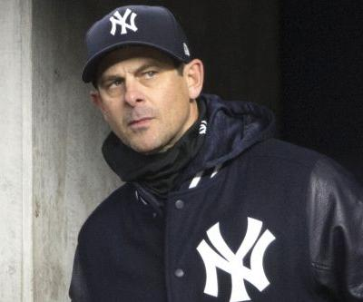 Aaron Boone is well aware of the Red Sox's scorching start