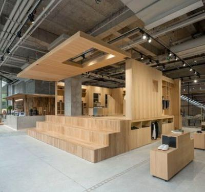 DOE Store in Shanghai / B.L.U.E. Architecture Studio