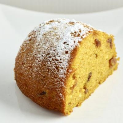 Orange Pumpkin Polenta Cake