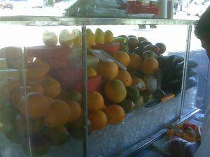 LA Fruit Cart at risk for Hepatitis A