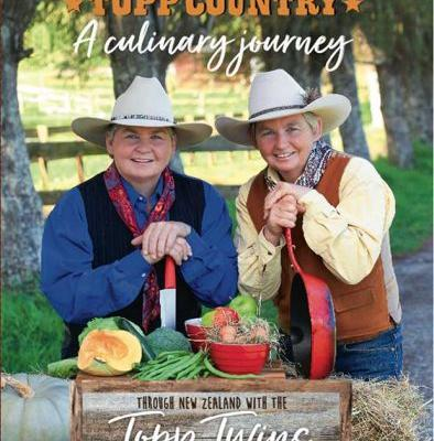 Be in to win one of five copies of the Topp Twins' cookbook Topp Contry: A Culinary Journey, valued at 49.95 each