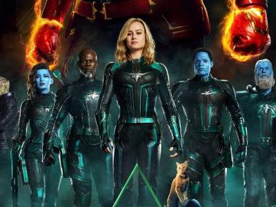 Captain Marvel Concept Art Reveals How Starforce Would've Looked Different