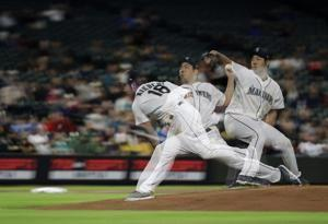 Mariners rally with 2 runs in 10th to beat A's 6-5