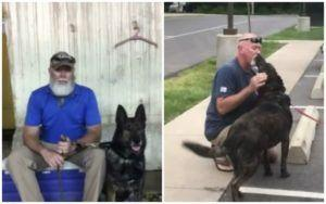 Army Veteran Reunited With His Retired Bomb-Sniffing Dog After 6 Months Of Separation