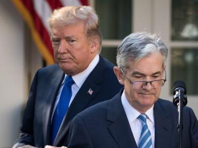 Trump Slams Interest Rate Hikes, Ignoring Hands-Off Tradition Toward Fed