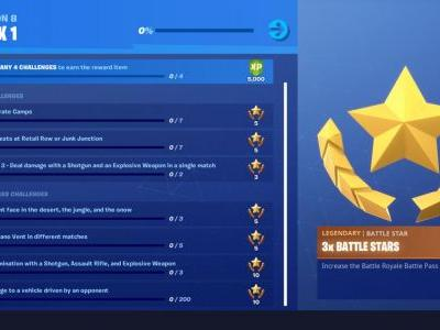Fortnite Season 8 Challenge Guide: Pirate Camps, Volcano Vents, And More