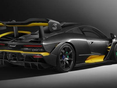 Gorge Yourself On This Stunning Carbon-Clothed McLaren Senna