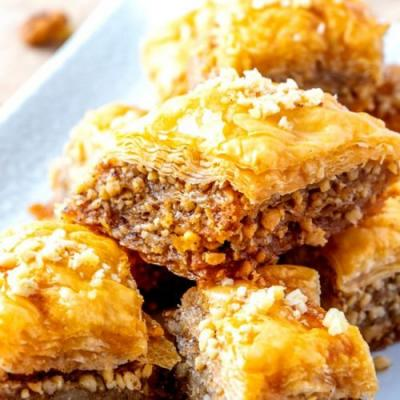 Homemade Baklava Recipe